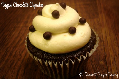 Best Vegan Chocolate Cupcake Passionfruit