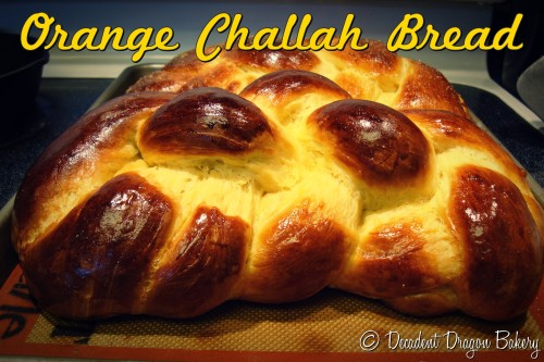 Orange Challah Bread Recipe